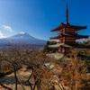 富士山、北から見るか、南から見るか