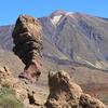 【スペイン・テネリフェ島】美しいテイデ山、奇岩・神の指( ロケ・シンチャド )