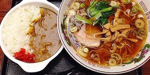 ラーメンが大人気の老舗日本蕎麦屋、新宿御苑前「そば処 更科」の中華ミニカレーライスセット