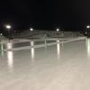 スケートリンクの氷作り 北海道の田舎の天然リンクです!