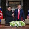 米朝首脳会談後のトランプ大統領記者会見の動画
