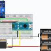 音センサとサーボモータを連動させる<Arduino nano>