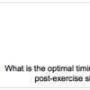 筋トレの効果を最大にするタンパク質の摂取タイミングを知っておこう
