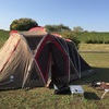 彩湖道満グリーンパークで1人デイキャンプ