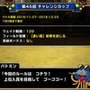 level.1224【ウェイト120・赤い霧】第46回闘技場チャレンジカップ初日