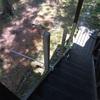 別荘 階段手摺り製作②