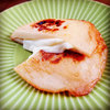本日の朝食惣菜は天ぷら蒲鉾のモッツァレラチーズサンド♪