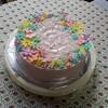 12月は大物ケーキ