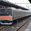 武蔵野線205系とE233系5000番台京葉線(2018年の撮影から)