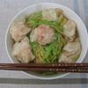 香港のお土産を使って『エビ雲吞麺』作ってみました^^