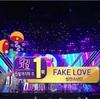 BTS (방탄소년단) SBS「人気歌謡」「FAKE LOVE」で1位を獲得