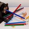 鉛筆削り器に挟まった短い鉛筆が取れないときの対処法!