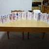 【御朱印】一冊目(札幌市内参拝しばり①)の御朱印帳が完成しました。