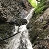 新郷村の名瀑を知る。『権現の滝』『滝(無名滝)』