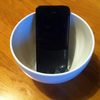 茶碗がスピーカーに大変身!?2WAYスマートフォン用室内スピカー