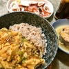 お子様用の麻婆豆腐 + ラー油