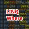 【C#,LINQ】Where~配列やリストを指定した条件でフィルタリングしたいとき~