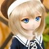 no.66 DD用(頭囲9インチ) マリンベレー帽(茶)