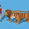 動物のCGアニメーション鋭意制作中です!