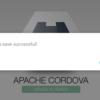 Cordovaプロジェクトでニフティクラウド mobile backendをはじめてみよう