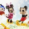 スワロフスキーが作った愛と喜びを表現したキュートなディズニーのフィギアたち