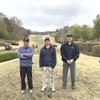 昨日と今日は、鍬をクラブに持ち替えてゴルフラウンド!