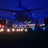 夜の鹿児島空港