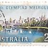 オーストラリア メルボルンの眺望 2シリング