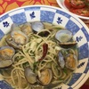 アサリと大葉の冷製スープパスタ