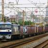 10月30日撮影 東海道線 平塚~大磯間 貨物列車 ① 1155ㇾ 5075ㇾ
