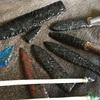 人類最初の道具、石器作り!
