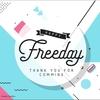 【期間限定無料】キャッチーな印象のスクリプト書体「Freeday」