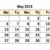 カレンダー作成問題の解答