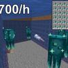 【マイクラ1.17】簡単&超高効率なヒカリイカ/発光するイカトラップ 作り方解説!輝くイカ墨大量入手!Minecraft Easy & High Efficient AFK Glow Squid Farm - 700 Glow Ink Sac/h【マインクラフト/JE/Java Edetion/便利装置】