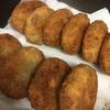 【メイン】イカと紫蘇のコロッケ&ひき肉と玉ねぎのコロッケ
