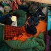 FBI大山でキャンプ最終日