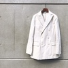 【AURALEE】FINX LINEN OX DOUBLE-BREASTED JACKET & SLACKS