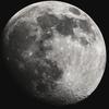 圧巻のお月様