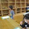 1年生:学校探検② 学校には不思議な部屋がいっぱい