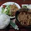 西川口の「満留賀」でしょうが焼き定食を食べました★