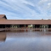 萩の朝散歩と、益田『グラントワ』見物、そして断水の羽田空港
