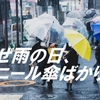 【雨の日、透明なビニール傘をさしている人が多いのはなぜ?】透明なビニール傘は中国で見当たらない?