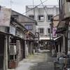 宇部市 : 老松遊郭周辺の町並み