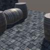【Unity】Unity上でモデリングができるProBuilderアセットのチュートリアルで樽を作ってみました