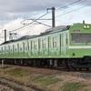 第733列車 「 桜井線の初詣臨に充当された103系を狙う 」