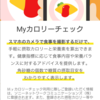 『健康第一』レビュー(カロリーチェック編)