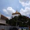 ワットサケットからバンコク市内を眺める