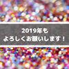 新年初ブログ!2019年もよろしくお願いいたします!