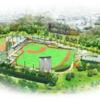 ファーム新球場のデザイン案が発表される。新たに判明した情報は