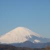 吾妻山からの富士山